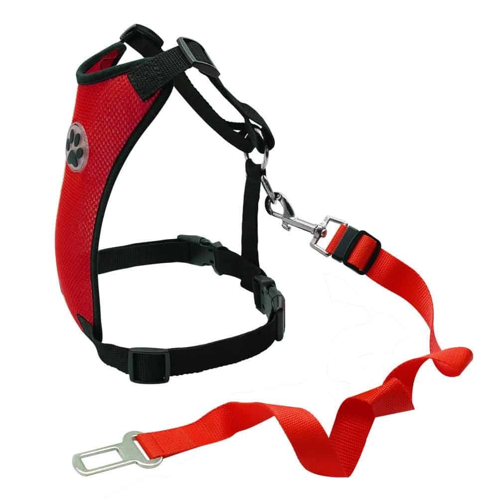Dog Car Harness with Seat Belt