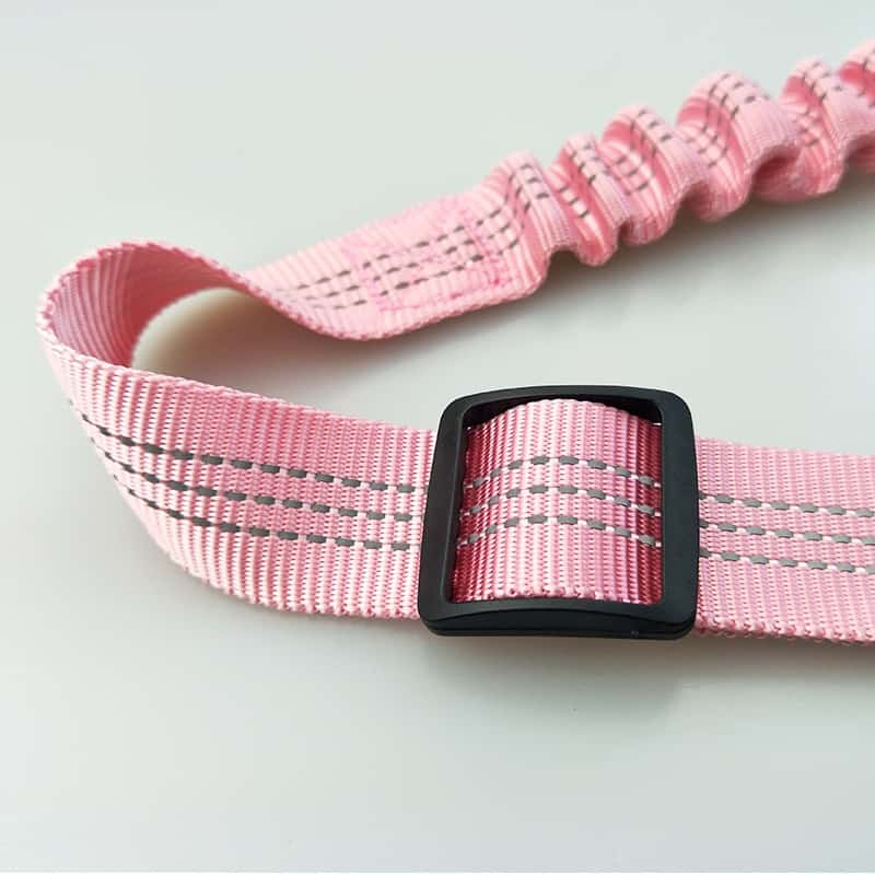 Adjustable Bungee Dog Car Seat Belt