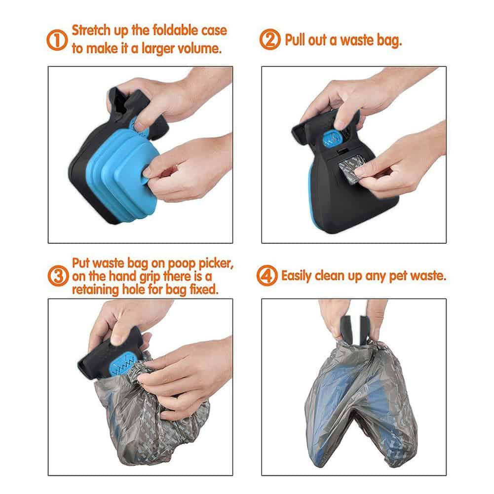 Portable Dog Poop Scooper
