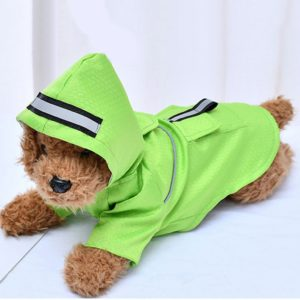 Reflective Dog Raincoat Small Dogs