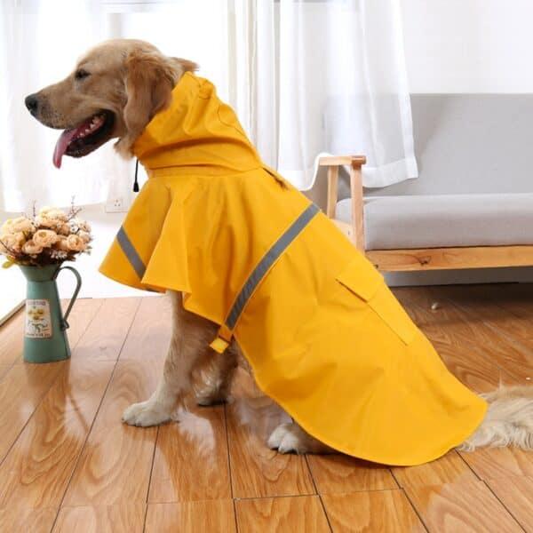 Waterproof Dog Raincoat Poncho
